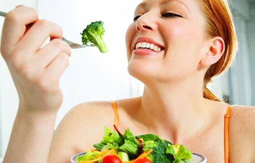 lười ăn rau và trái cây