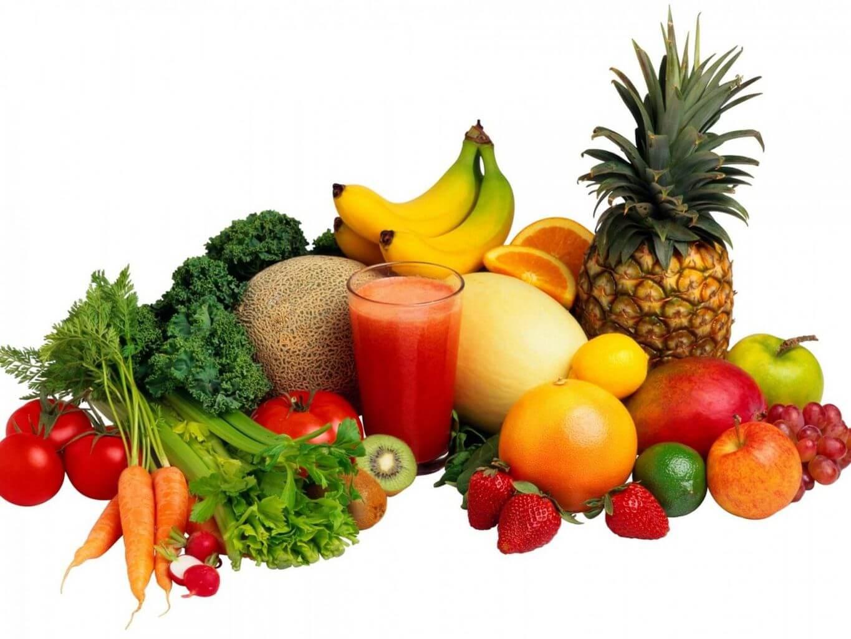tăng cường ăn nhiều rau xanh và trái cây