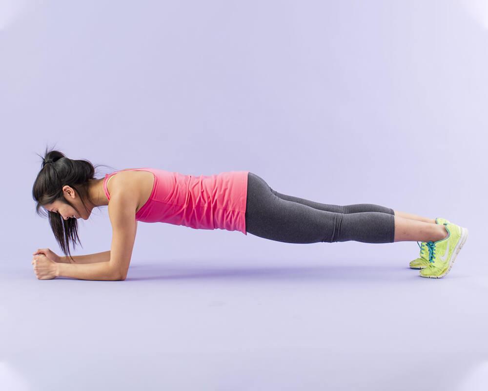 tập yoga plank