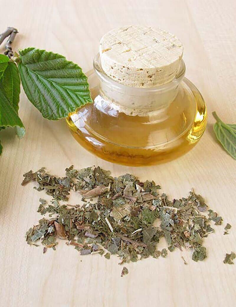 dùng dầu cây trà trị mụn