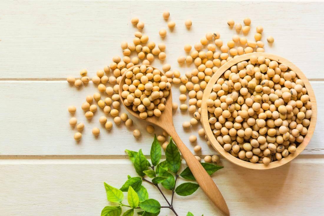 sản phẩm trị thâm có chứa đậu nành