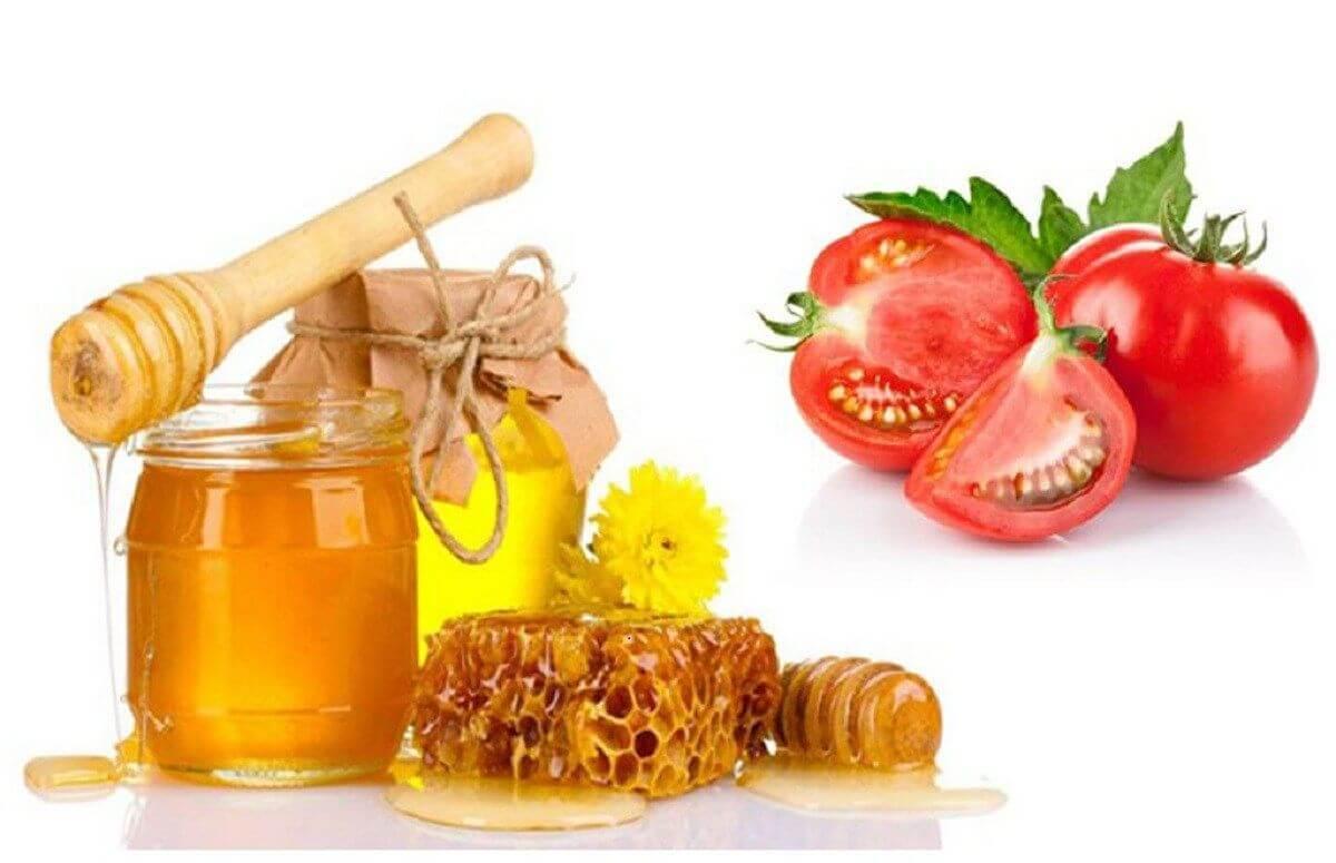 cách trị nám tàn nhang bằng mật ong và cà chua