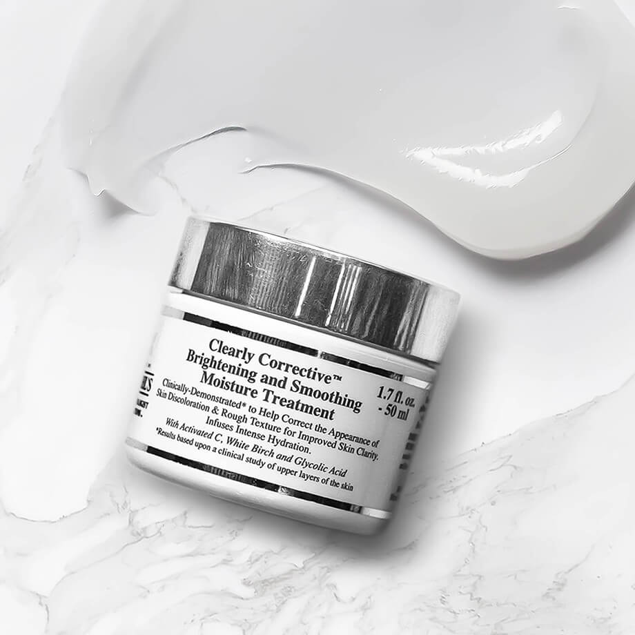 kem trị nám tàn nhang Kiehl's Clearly Corrective Brightening Smoothing Moisture Treatment