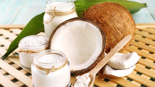mặt nạ trị tàn nhang dầu dừa và sữa chua không đường