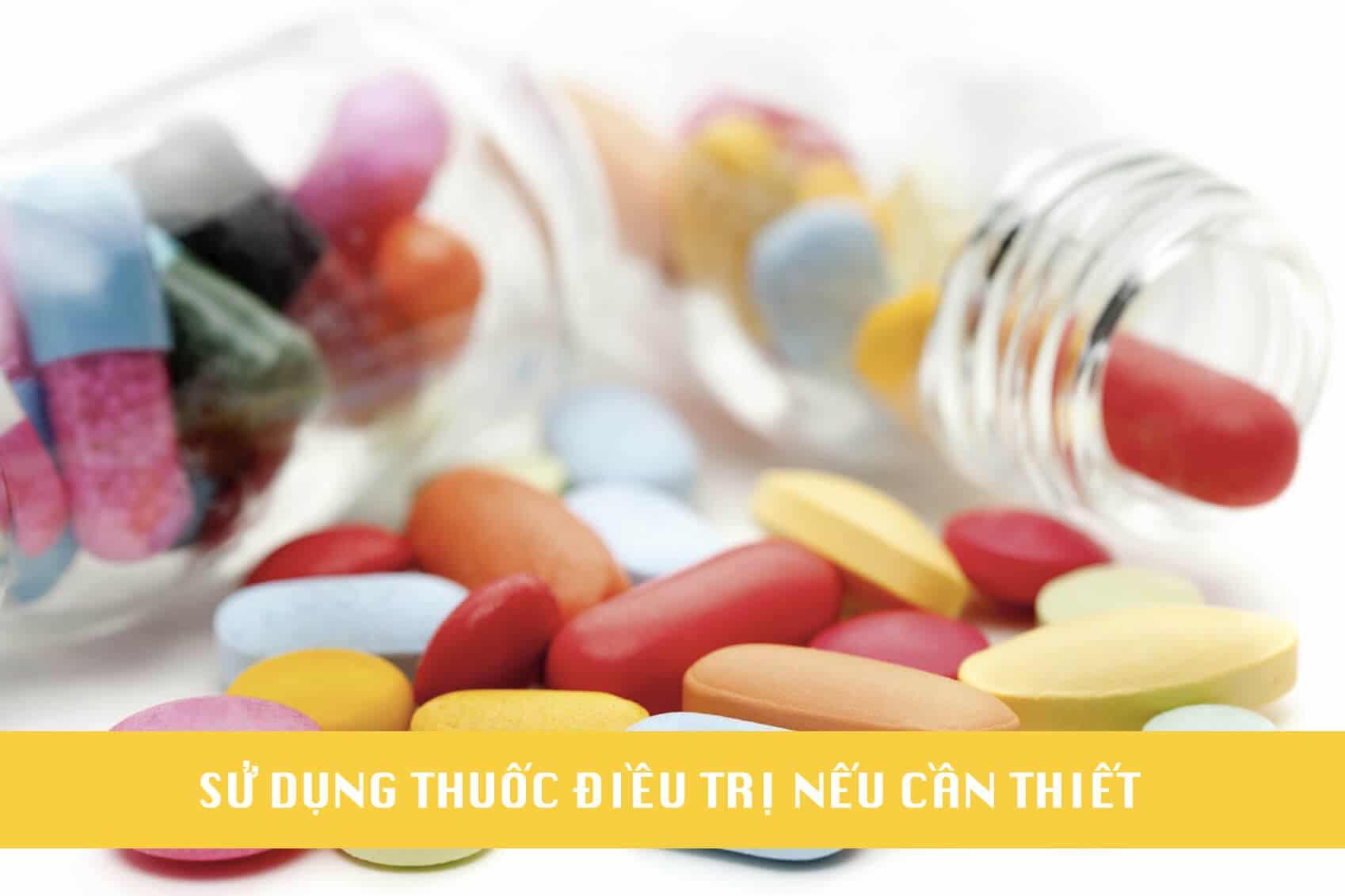 sử dụng thuốc điều trị
