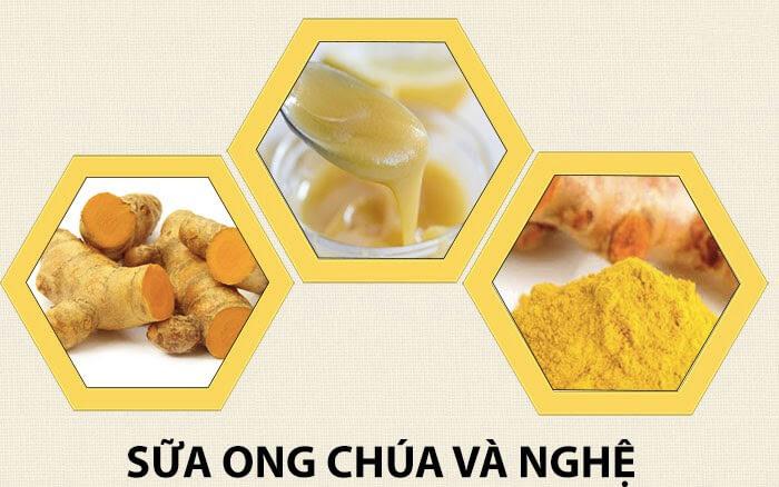 trị tàn nhang bằng sữa ong chúa và mật ong