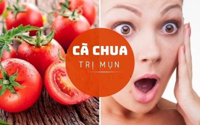 Cách trị mụn bọc bằng cà chua mang lại kết quả bất ngờ