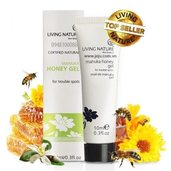 Gel trị mụn từ mật ong Manuka Honey Gel Living Nature