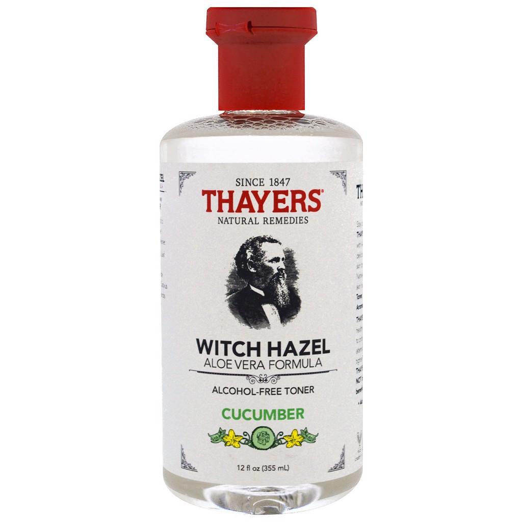 Toner Thayers dịu nhẹ cho làn da nhạy cảm, da dầu mụn