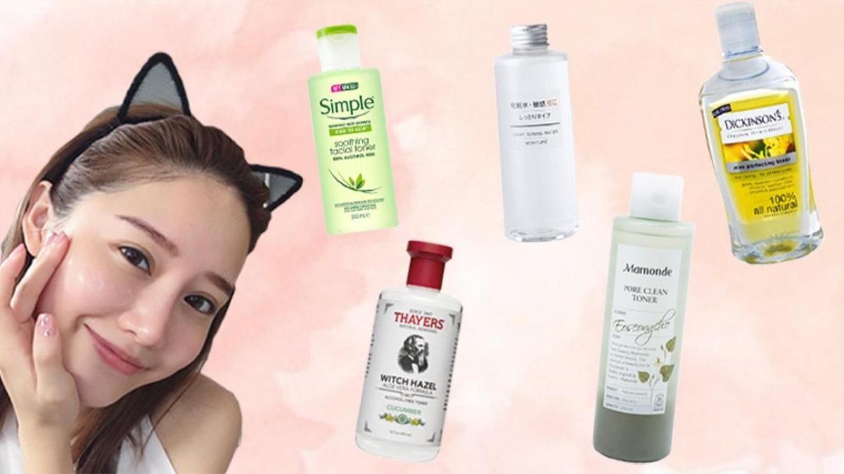 Các sản phẩm toner dành cho da mụn tốt