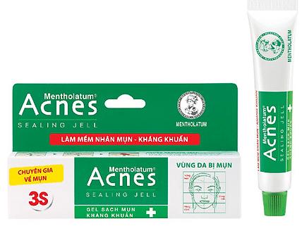 Kem trị mụn ẩn Acnes mang lại hiệu quả cho làn da sạch mụn