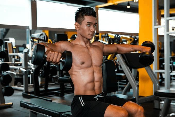 Tập gym hợp lý kể cả các cơ xung quanh cơ thể