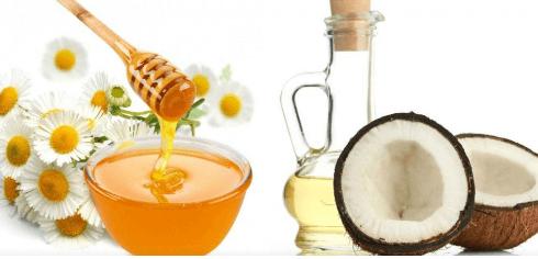 Mặt nạ từ mật ong và dầu dừa