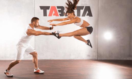 Thực hiện tabata giúp giảm cân toàn thân hiệu quả.