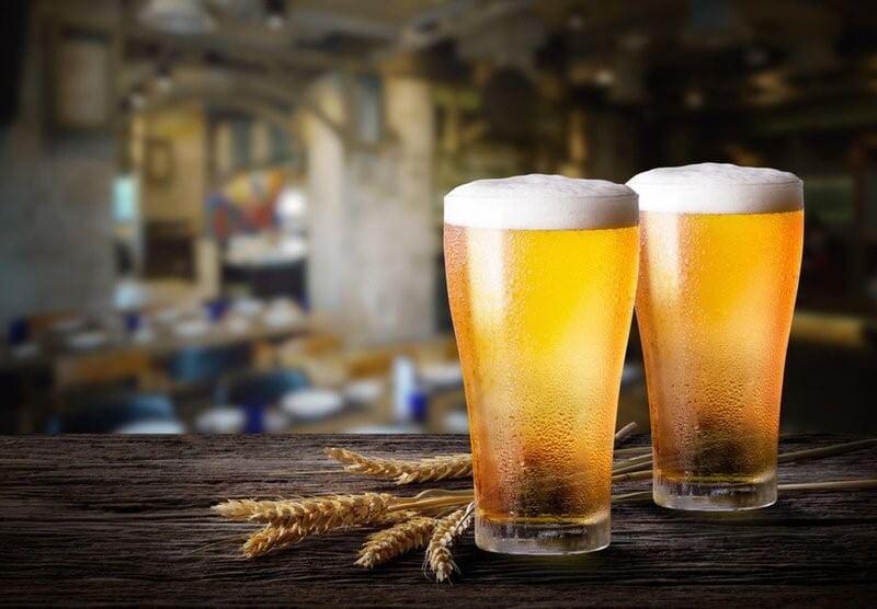 Tắm trắng tại nhà với bia