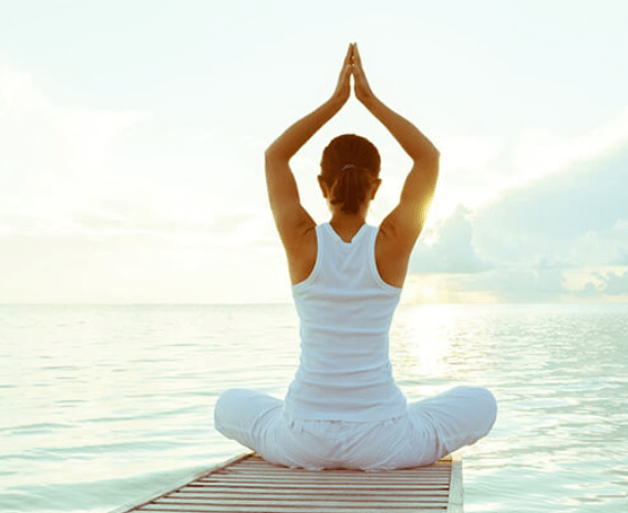 Yoga mang lại tinh thần thư thái và thoải mái cho người tập.