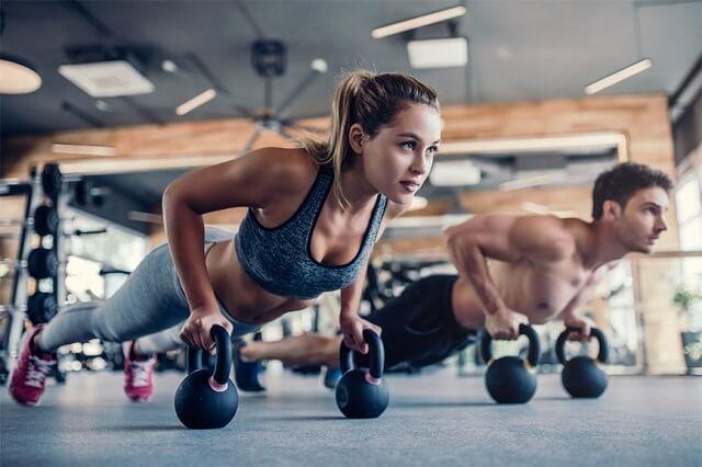 các bài tập fitness