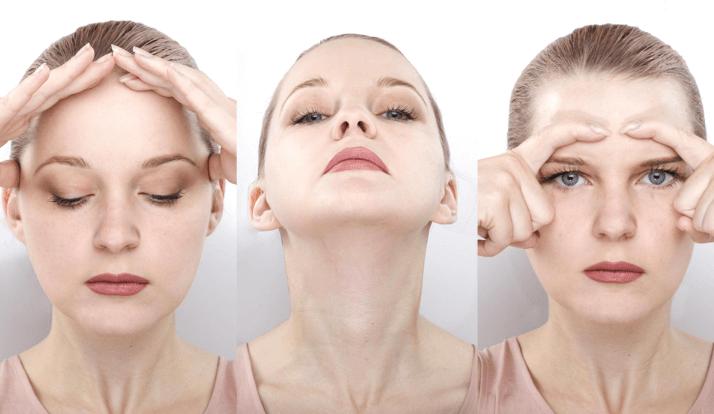 Bấm huyệt giảm mỡ mặt giúp gương mặt thon gọn hơn.