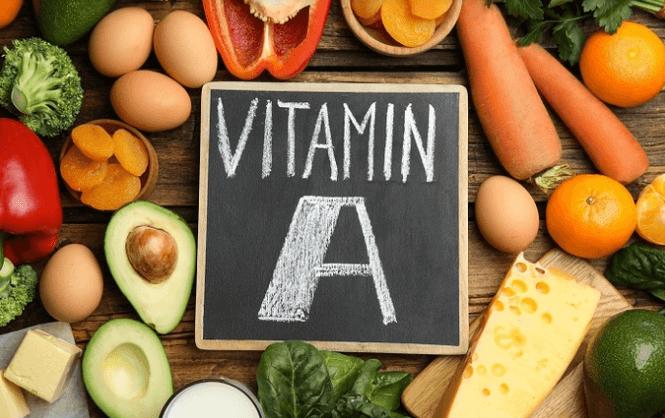 Bổ sung vitamin A giúp trị lẹo mắt hiệu quả.