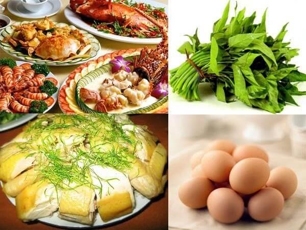 Tránh ăn những loại thực phẩm để lại sẹo