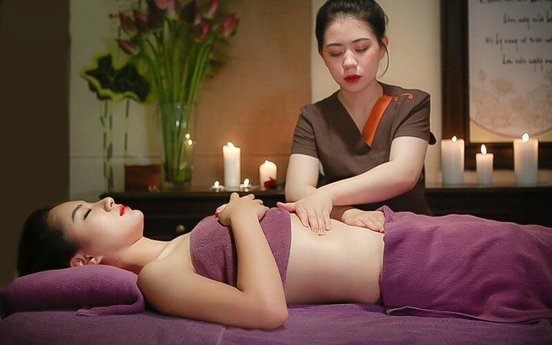 Spa Massage giảm mỡ bụng mang lại hiệu quả cao.