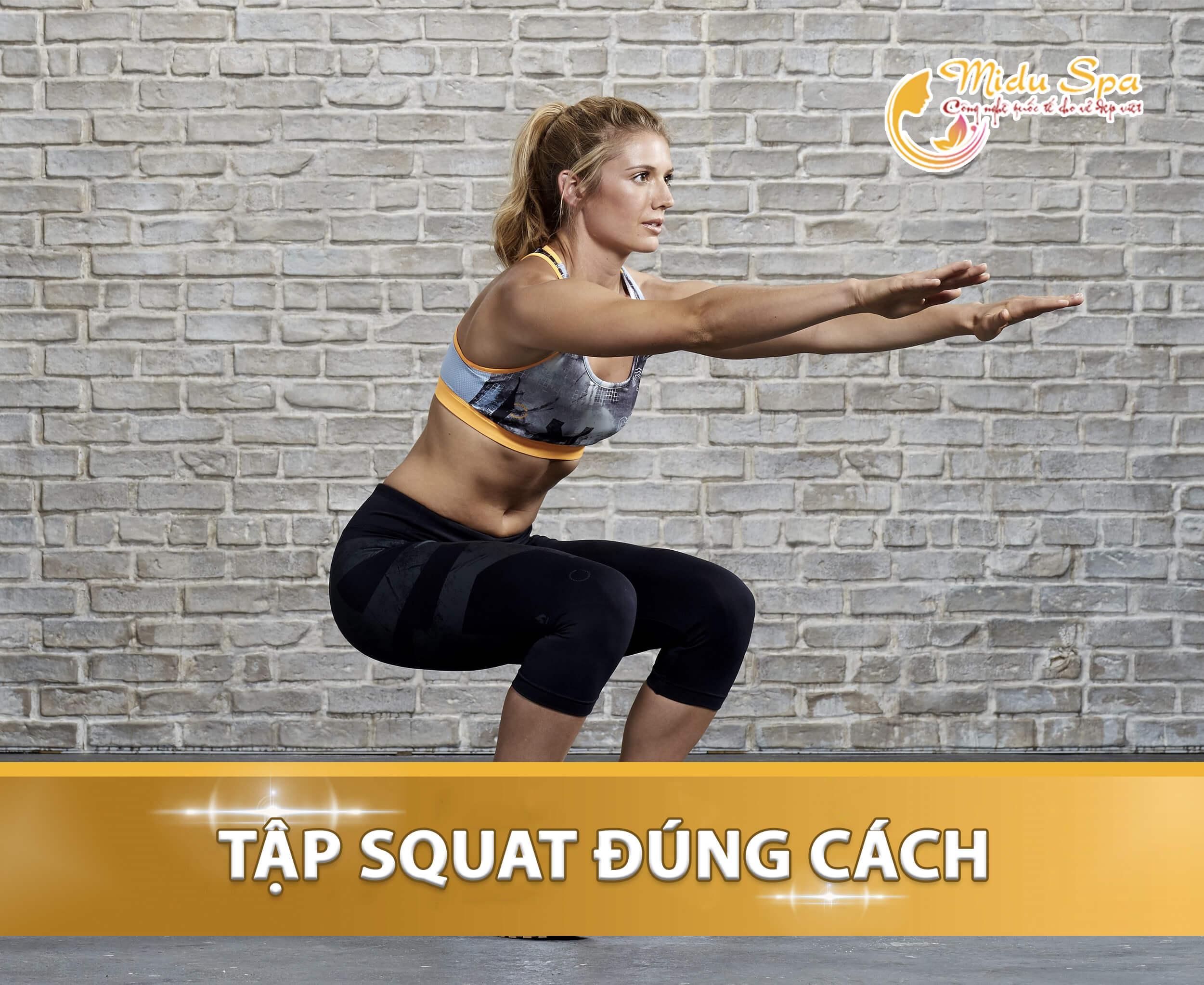 tập squat